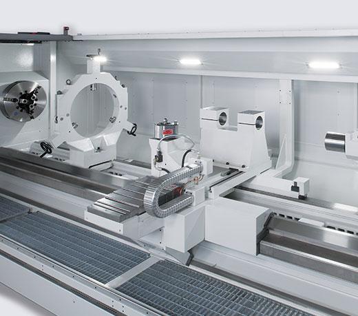 Ergonomic machine interior